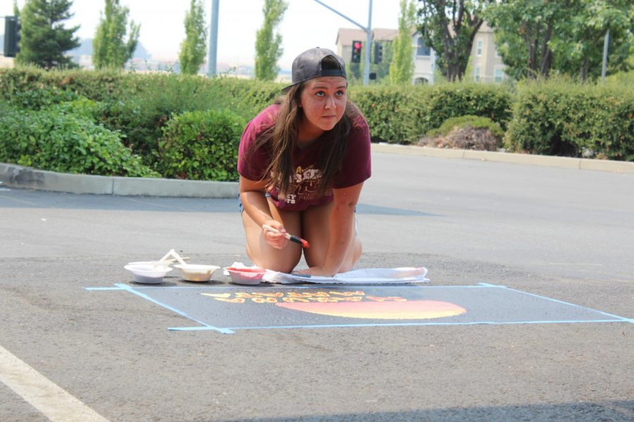 "During the Senior Paint Day, Kikilia Mateo Borges expresses her love for the Disney movie ""The Lion King"".She explained the inspiration of her parking spot masterpiece were the similarities between her life and the movie. ""When I was little I was always into Lion King, it's always been my number one movie,"" Mateo Borges said."