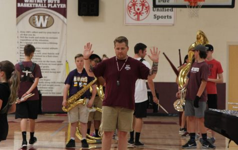 New marching band director shares his story