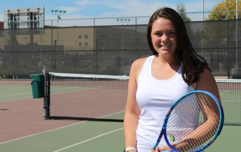 Women's JV tennis player Ana Anderson says footwork drills aren't fun but lead to success