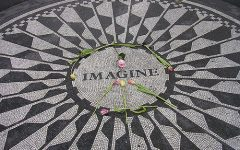 John Lennon made his career as an artist more about spreading peace than music