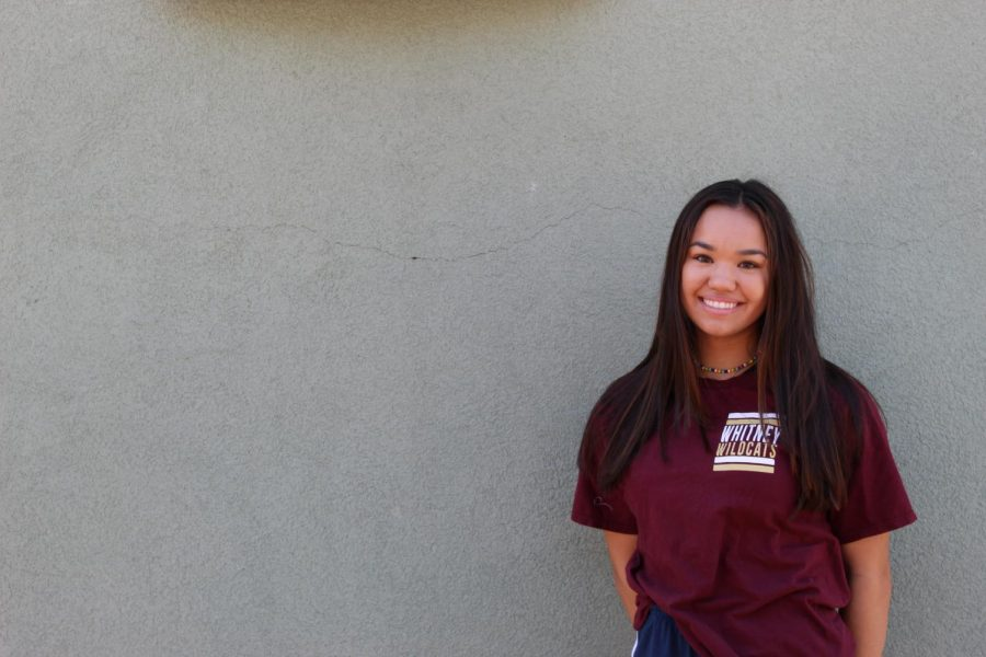 Izzy Laber makes varsity after one year cheering