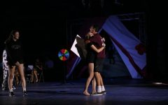 Homecoming night rally holds performances and announces royalty