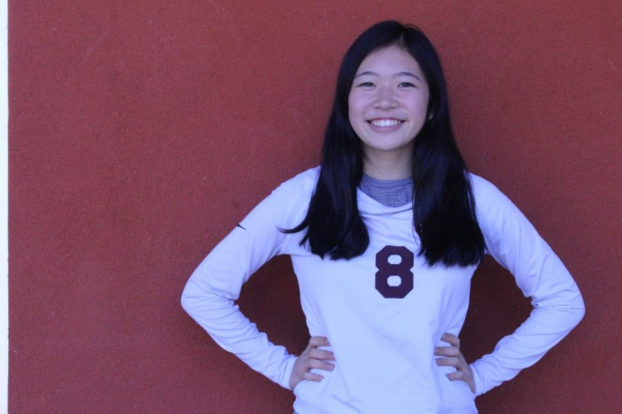 Allyson Ikeda describes her experience on the JV volleyball team