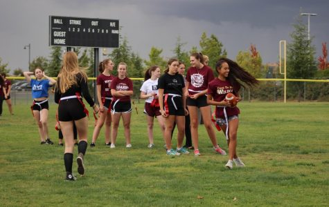 Powder puff game brings rivalry