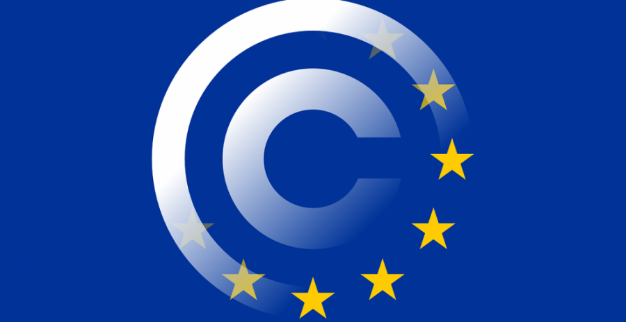 With the possibility of the European Union passing the new version of Article 13, the news company, Valigia Blu, has created this graphic. Photo from Valigia Blu, used with permission under fair use.