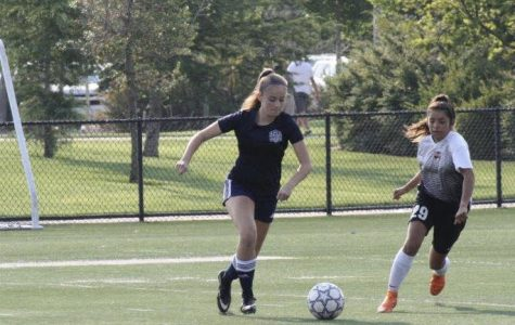 JV player Sophia Perkins compares her soccer experiences