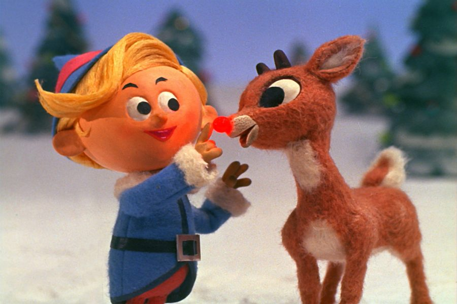 Rudolph+the+Red-Nosed+Reindeer+is+a+holiday+classic.+In+this+clip+of+the+movie%2C+Hermey+the+elf+is+with+mistreated+Rudolph.