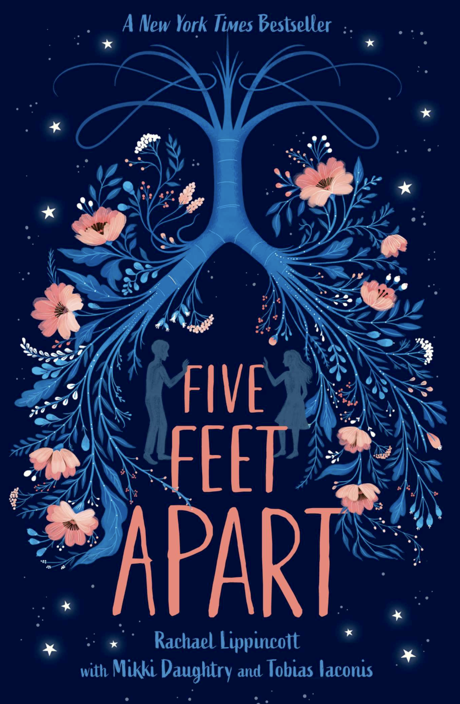 The cover of the novel 'Five Feet Apart' by Rachael Lippincott, with Mikki Daughtry and Tobias Iaconis is based of the film that will release March 22. Used with permission under fair use
