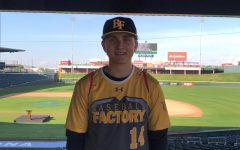 Gage Eastlick attends Under Armour All American Pre-Season Tournament
