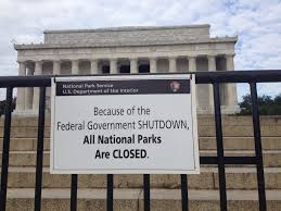 Across the country, many museums and national parks have been closed due the shutdown of the national government. Photo from Flickr, used with permission