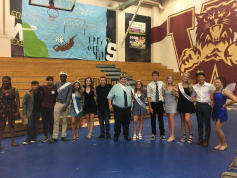Homecoming nominees by Izzy Terry