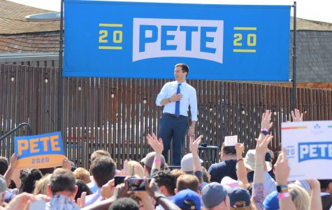 Democratic presidential candidate Pete Buttigieg visits West Sacramento