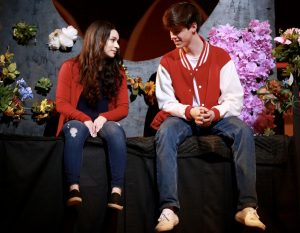 Preparing for 'High School Musical' opening night, students rehearse during Tech Week