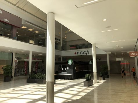 The Westfield Galleria Mall in Roseville is among the businesses that are beginning to reopen to the public, although not all of the stores inside have opened yet. Photo by Angela Roberson.