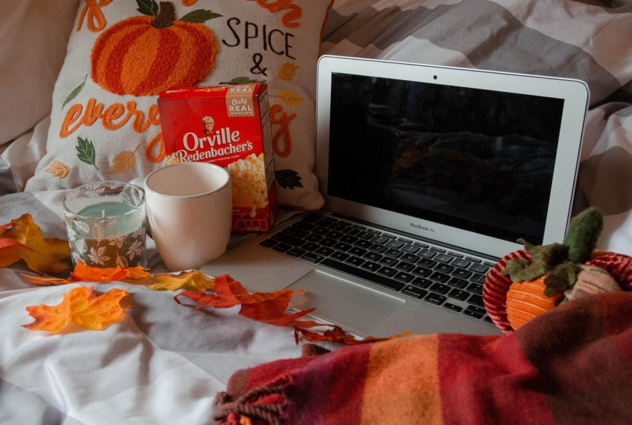 Fall movie setup at home