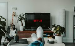 With extra time due to hybrid schedule and quarantine, Netflix can be used to procrastinate on the homework that should be done already. Photo by Mollie Sivaram from Unsplash.