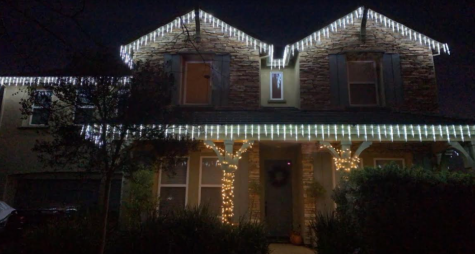 Ryan Dulai's Christmas lights. Photo by Ryan Dulai