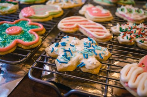 Christmas sugar cookies. Photo by Jonathan Meyer from Pexels.